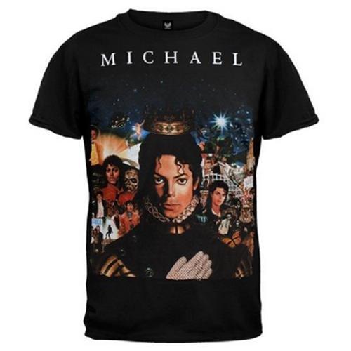 MICHAEL JACKSON - 【ニューアルバムジャケット柄】RETROSPECTIVE/ T-シャツ/ メンズ 【公式 / オフィシャル】