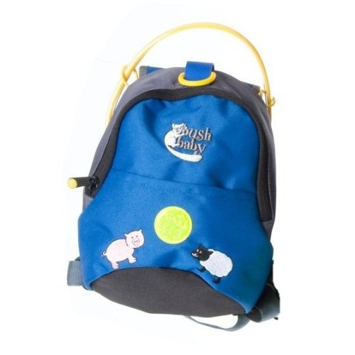 Bush Baby Minipack Blue with Safety Reins