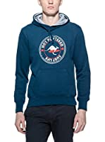 Hot Buttered Sudadera con Capucha Surf Life (Azul)