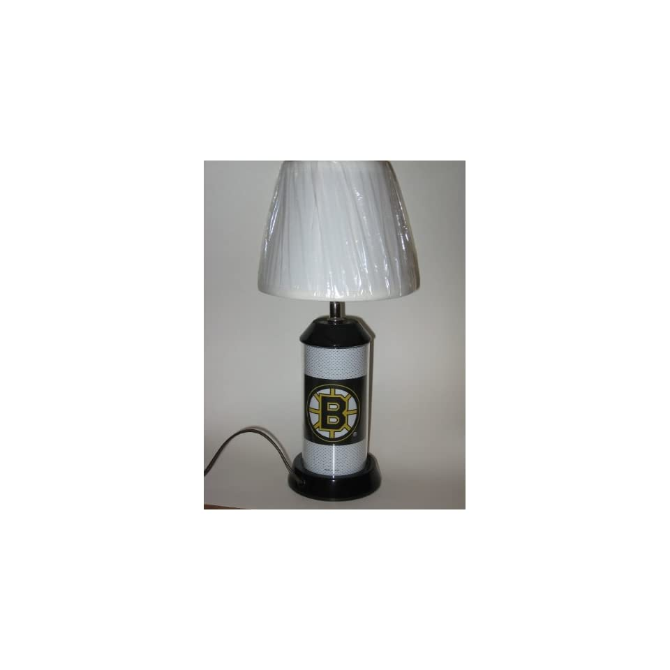 bruins 17 high vanity table lamp night light base with 3 way light. Black Bedroom Furniture Sets. Home Design Ideas