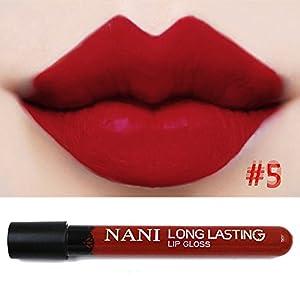 Neverland Waterproof Liquid Makeup Lip Pencil Matte Lipstick Lip Gloss Super Long Lasting #5