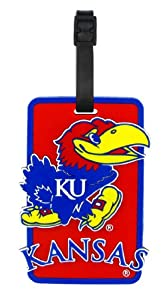 Buy Kansas Jayhawks - NCAA Soft Luggage Bag Tag by aminco