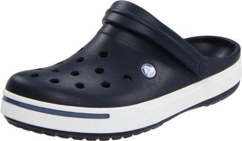 Crocs, Crocband II, Zoccoli e sabot,Uomo, Blu (Navy/Bijou Blue 42T), 42 (US 9)
