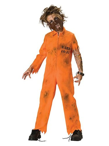 Cell Block Psycho Kids Costume