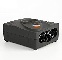 SHINA Black Mini Tire Inflator Car Air Compressor Car Auto Easy To Portable Pump 80PSI DC12V 35L/min