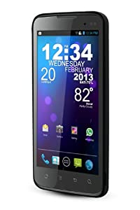 BLU Quattro 4.5 Unlocked Phone with NVIDIA Tegra 3 Quad-Core Processor, Android 4.0, 3G HSPA+, and 5MP Camera - U.S. Warranty (Black)