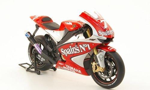 Yamaha-YZR-M1-No7-CCheca-MotoGP-2004-Modellauto-Fertigmodell-MCW-SC48-112