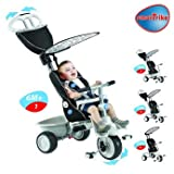 Geniusly Smart Trike Recliner Stroller 4-in-1 - Cleva Edition 3DAlarmD Bundle