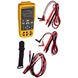 Fluke Fluke-712B RTD Temperature Calibrator, Yellow/Brown/Black/Red by Fluke