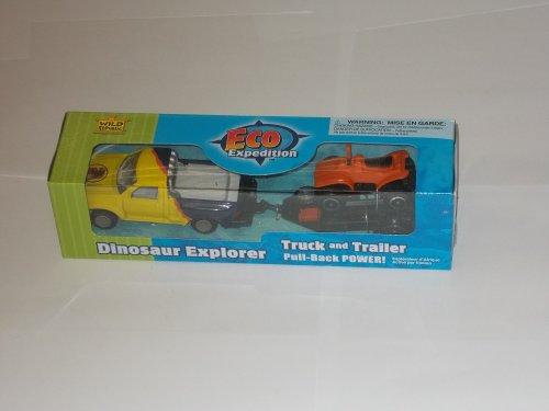 Eco Expedition - Truck & Trailer - Dinosaur Explorer - Toy - Wild Republic - 1