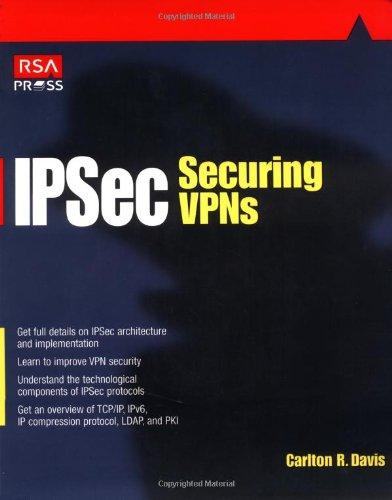 Ipsec Securing VPNs (RSA Press)