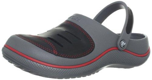 Crocs 14097 Yukon Clog (Toddler/Little Kid/Big Kid),Charcoal/Black,C12/13 Us Little Kid front-635867