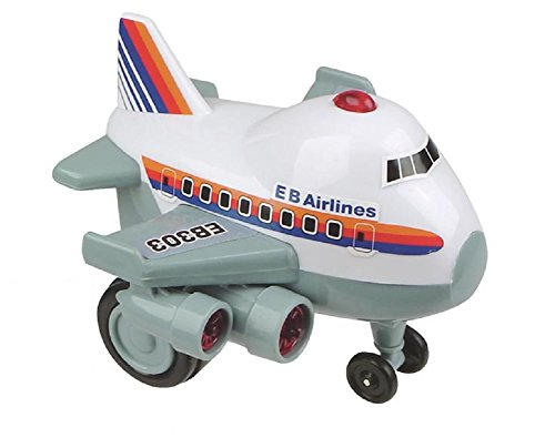 Zoomsters Jumbo Jet Friction Wind Up Toy Children, Kids, Game