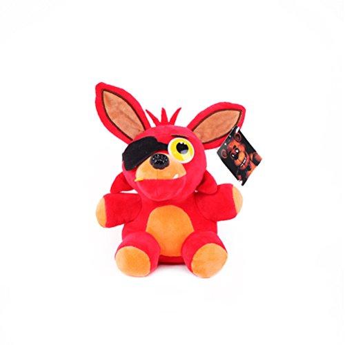 GAMT Five Nights at Freddy's Morbido Peluche Giocattoli Per I Bambini Regalo Piccolo Bambino Dolls Rosso