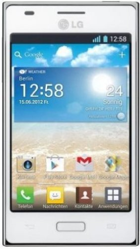 LG E610 Optimus L5 white sim-free Black Friday & Cyber Monday 2014