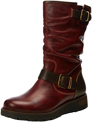 PikolinosAvila W6h_i16 - Stivali donna , Rosso (Red (Arcilla)), 38