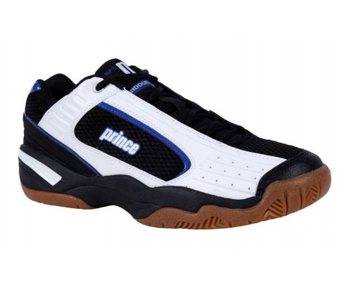 PRINCE NFS Indoor V Men's Indoor Shoes, Black/White, UK10.5
