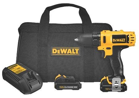 "12 Volt Max 3/8"" Drill/Driver Kit With Double Sided Foam Tape front-637419"