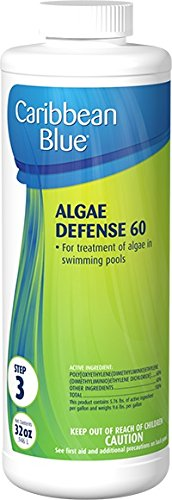 Algae Defense 60 Swimming Pool Algaecide/Algicide by Caribbean Blue Pool & Spa Chemicals