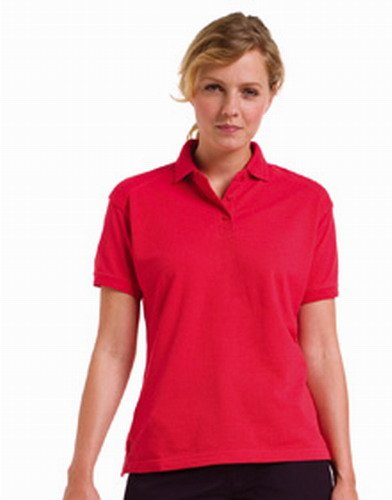 Russell Workwear Ladies Fitted Cotton Polo Shirt