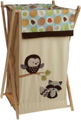 Great Deal! Carter's Forest Friends Hamper, Tan/Choc, 17 X 16 X 27