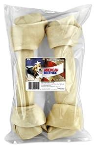 "westminster pet products 21120 American, 2 Pack, 10"" -11"", Beefhides, Rawhide Bones"