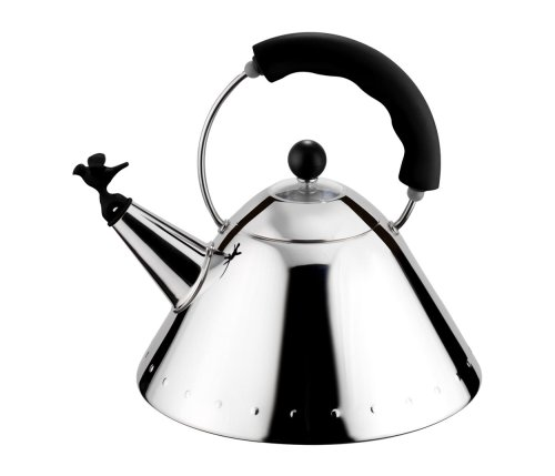 Alessi Bird Kettle in Black