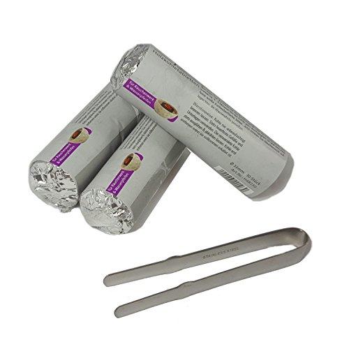 Rucherzubehr-Rucherzange-inkl-schnellzndende-Premium-Rucherkohle-selbstzndend–33-mm
