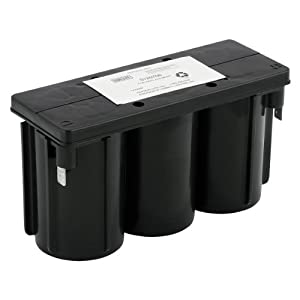 Dual Lite 0120706 Approved 6-volt 5Ah 2.75-Amp for 90-Minute New Pure Lead Battery