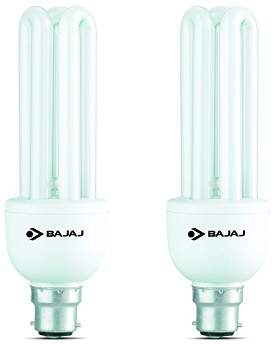 Bajaj Retrofit Ecolux 23 Watt CFL Bulb (Cool Day LIght,Pack of 2) Image