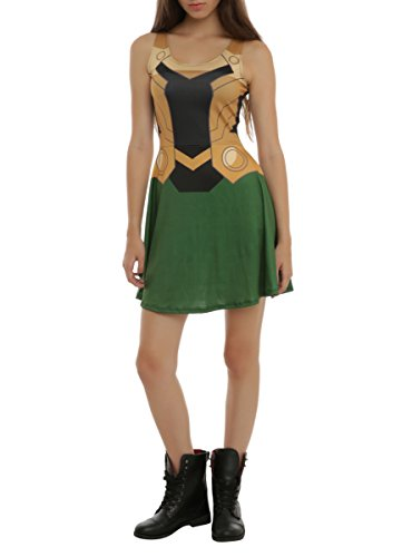 [Marvel Her Universe Loki Costume Dress] (Loki Costume)
