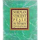 My Favorite Quotations (0060664835) by Peale, Norman Vincent