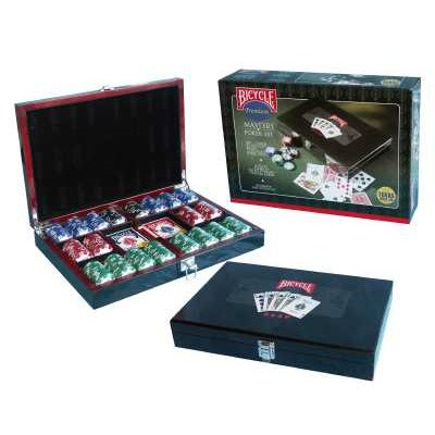 Set completo 300 Fiches Poker Masters Set Bicycle