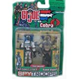 G.I. Joe SPY TROOPS Desert Cobra C.L.A.W.S. and Sand Viper Troop Builders [Toy]