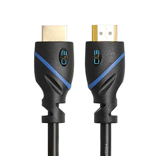 JacobsParts JPQ-HT10 10ft HDMI High Performance Thin Cable Perfect for TVs PCs and Gaming Systems