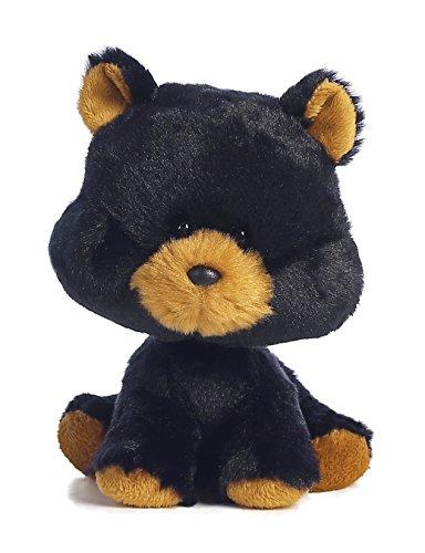 Aurora World Wobbly Bobblees/Black Bear Plush - 1