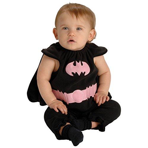 Batgirl Baby Infant Girls Bat Girl Halloween Costume (Batgirl Costume Bib)