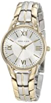 Anne Klein Womens 109815SVTT Two-Tone Two-Tone Bracelet Watch