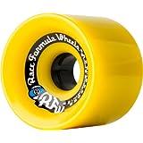 Sector 9 Race Formula Skateboard Wheel, Yellow, 69mm 78A by Sector 9