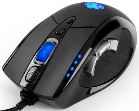 Ankerゲーミングマウス ゲーム用高精度レーザーマウス [8000 DPI 9つのプログラマブルボタン マクロ設定可能 調節可能なウェイトカートリッジ オムロンマイクロスイッチ搭載]【18ヶ月の保証期間】