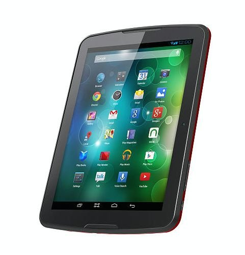 Polaroid 8 inch Internet Tablet with Android 4.2 Jelly Bean – Red
