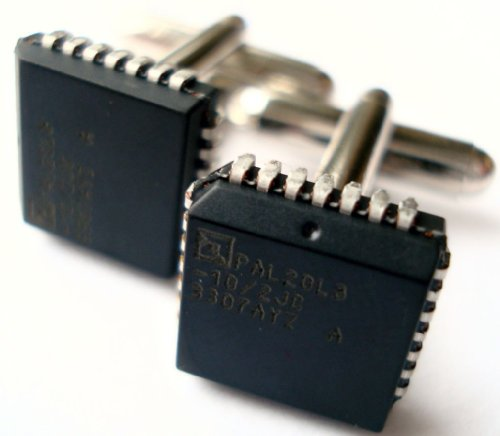 Computer Chip Cufflinks