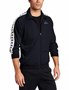 Kappa Men's Banda Anniston Track Jacket, Navy, Small