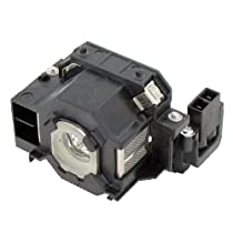 Compatible EPSON EX30 Projector Replacement Lamp with Housing