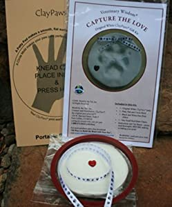 Capture the Love Clay Paw Kit
