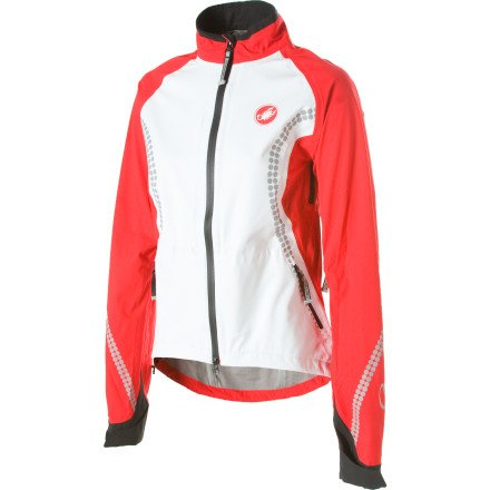 Image of Castelli GDP Rain Jacket - Women's (B00604423Q)