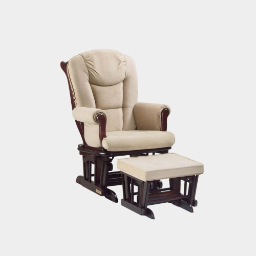 Why Should You Buy Shermag Glider Rocker Combo, Espresso with Pearl Beige