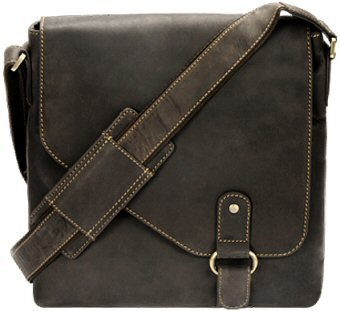 Visconti Oiled Leather Aspin Messenger Bag 16071