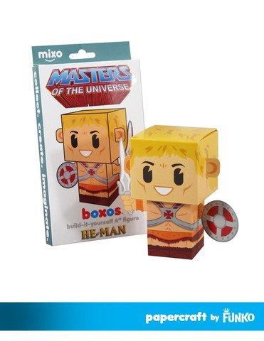 "Papercraft Masters He-Man Boxos 4"" Figure - 1"