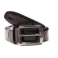 Sting Fine Quality Black Color Leather Belt For Men